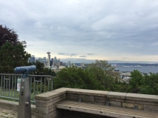 On Queen Anne Hill overlooking Lake Union