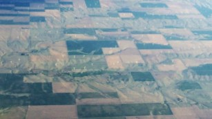 View flying out of Colorado